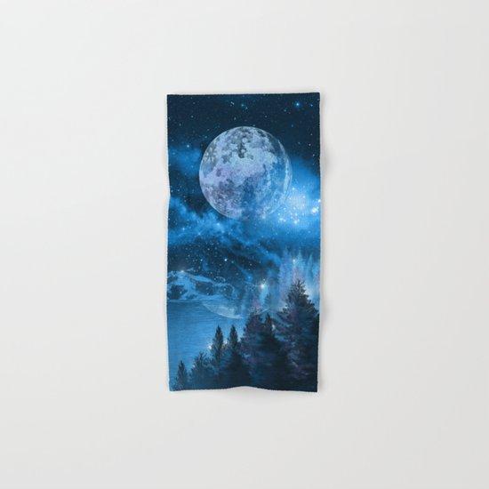 Night forest Hand & Bath Towel