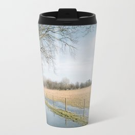 a cold afternoon... Travel Mug