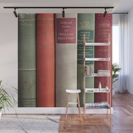 Old Books - Square Wall Mural