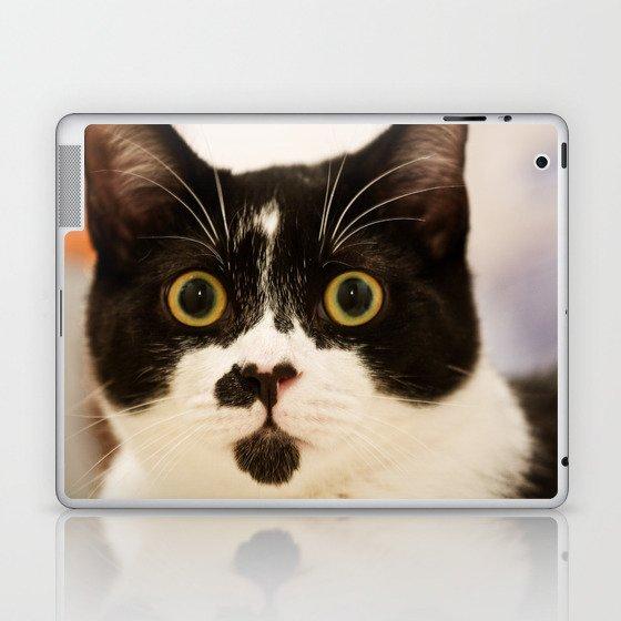 Pussy cat, pussy cat Laptop & iPad Skin