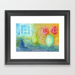 Sunlight in my room Framed Art Print