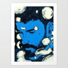 Strange Entity Art Print