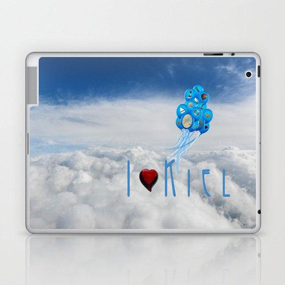 I love Kiel Laptop & iPad Skin