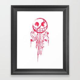 Smiles are In Framed Art Print