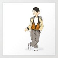 ferris bueller Art Prints featuring Ferris Bueller is the Man! by Troy Jensen