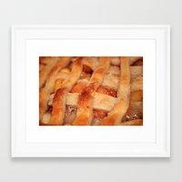 dessert Framed Art Prints featuring Dessert by silverstreaked