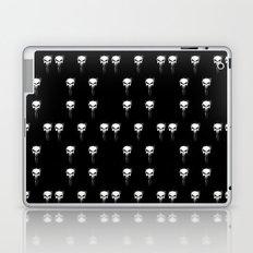 skulls pattern Laptop & iPad Skin