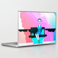 shopping Laptop & iPad Skins featuring Shopping by IOSQ
