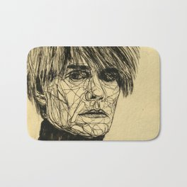 My Favorite Rogue (Warhol) Bath Mat