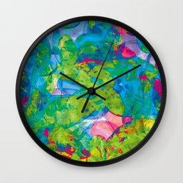 Abstract of pebbles Wall Clock