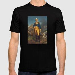 George Washington - Military Portrait T-shirt