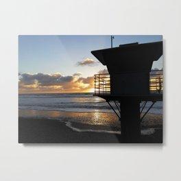 Torrey Pines Beach 1 Metal Print