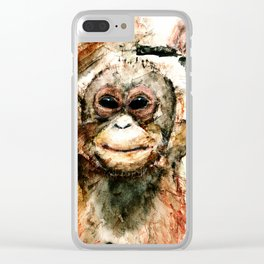 Pongo Clear iPhone Case