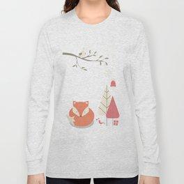 Christmas baby fox 06 Long Sleeve T-shirt