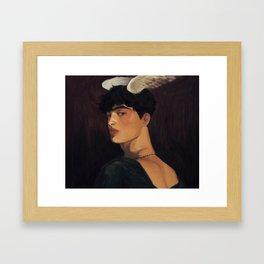 Ἑρμῆς Framed Art Print