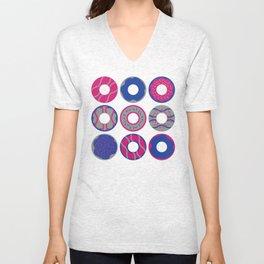 Androgynous Donuts Unisex V-Neck