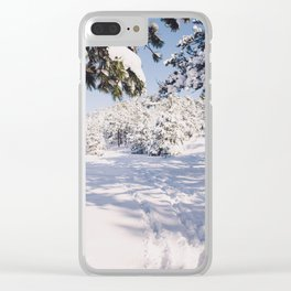 Winters Day Clear iPhone Case