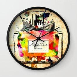 Miss D. Le Parfum Wall Clock