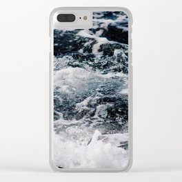 SEA - OCEAN - WAVES - WATER - NATURE Clear iPhone Case