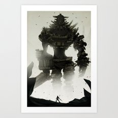 Looming Art Print