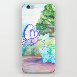 Butterfree And Bulba-saur iPhone Skin