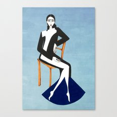 Henri Matisse inspired fashion Canvas Print