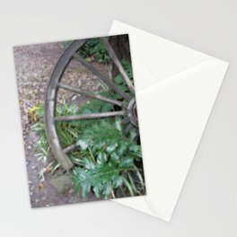 Old Wheel Stationery Cards