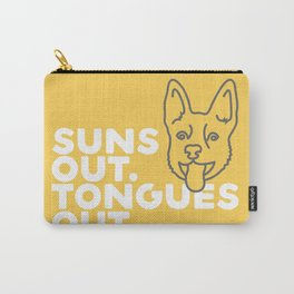 Suns Out. Tongues Out. Carry-All Pouch