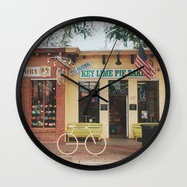 The Original Key Lime Pie Bakery Wall Clock