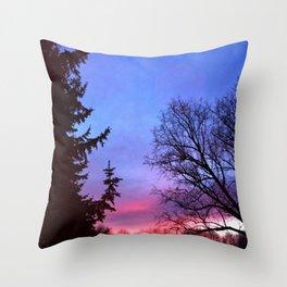 Shades Sunset Throw Pillow