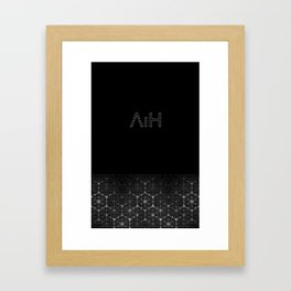 aih logo Framed Art Print