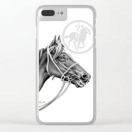 Veloso Racehorse NZ Clear iPhone Case