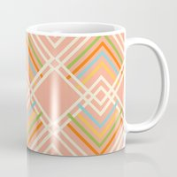 sports Mugs featuring Sports Day by clare nicolson