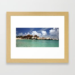 The virgin gorda.  Framed Art Print