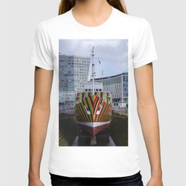 Dazzle ship T-shirt