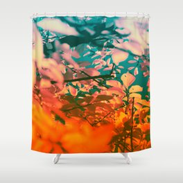 Autumn Fantasy colors of love & light Shower Curtain