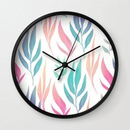 Pattern flower Wall Clock
