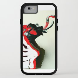 Elephant Naked Man iPhone Case