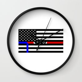 Amerikkka - Stop Police Fascism - Defund The Police - US 2020 Wall Clock