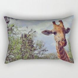 Closer, closer, how about now? Rectangular Pillow