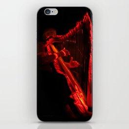Harp Energy X:  Hot Music iPhone Skin