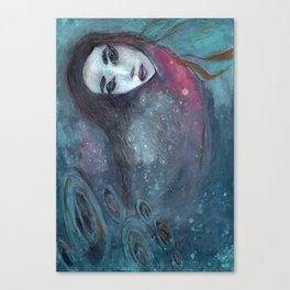Underwater dive Canvas Print