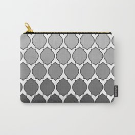 Morocco- Black & White Carry-All Pouch
