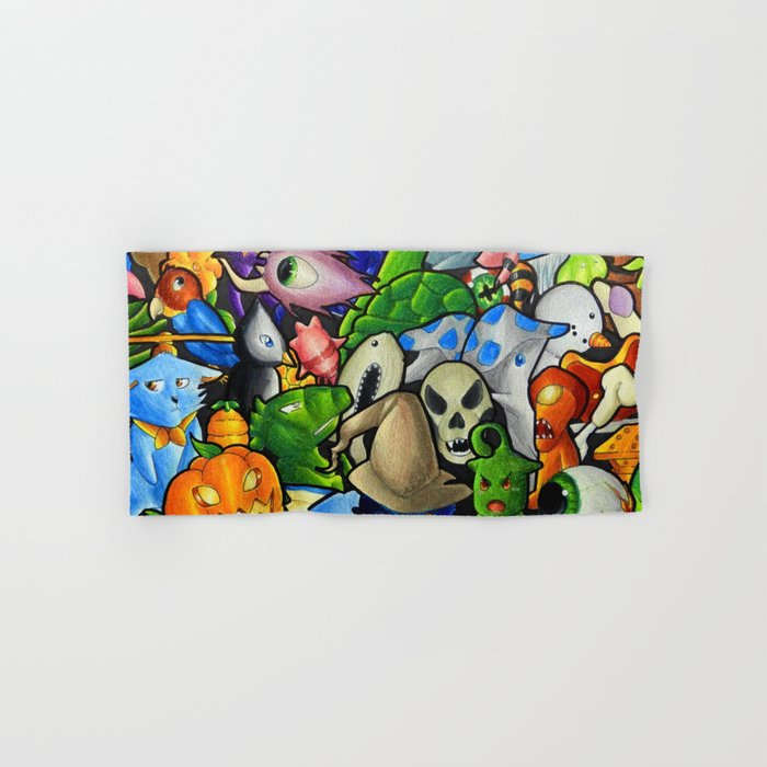 All terraria's pets Hand & Bath Towel