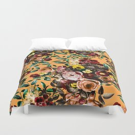 floral ambiance Duvet Cover