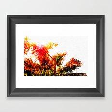 Autumn Impression Framed Art Print