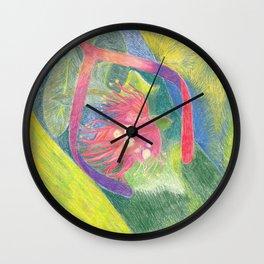 Lehua Slippah Wall Clock