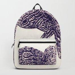 Reflected Ink Elephant Backpack