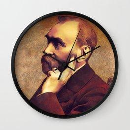 Alfred Nobel, Inventor Wall Clock
