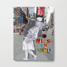 A Kiss in Time Metal Print